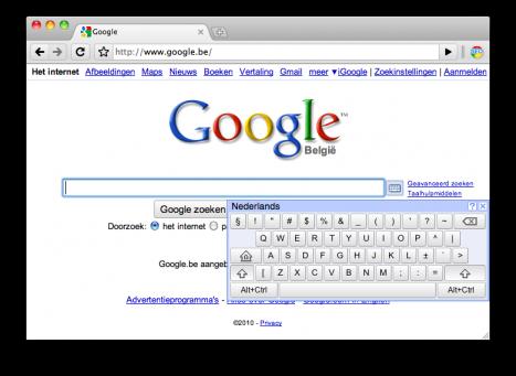 google-virtueel-toetsenbord