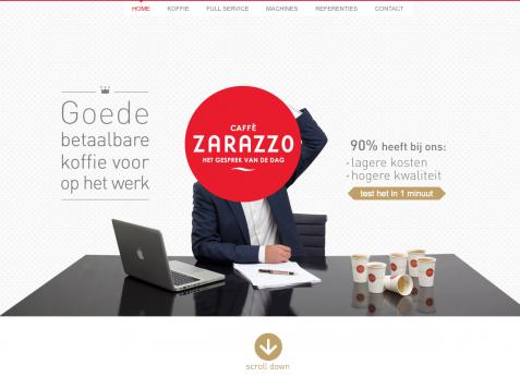 zarazzo-parallax-website